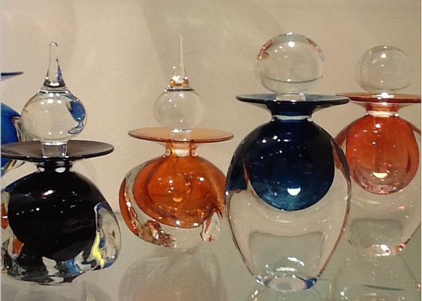 Glass Perfume Bottles | Shayne Gallery
