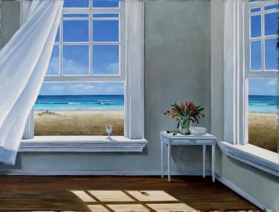 """Sandcastle"" 24""x32"" Oil on Canvas"