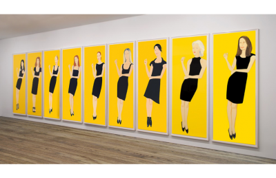 "Alex Katz - ""The Black Dress"" series"